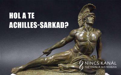 Achilles-sarok a Théta Healing szemszögéből