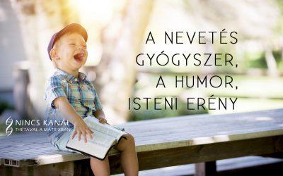 A humor, mint isteni erény